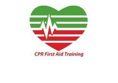 CPR First Aid Training Logo